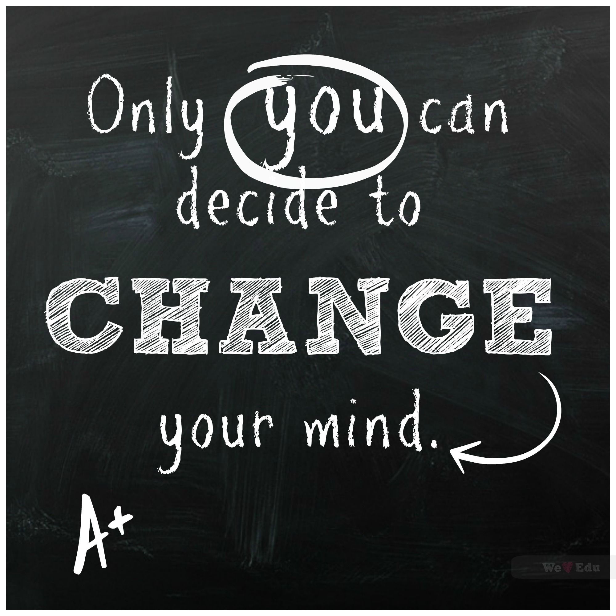 Change Your Mind!  We Heart Edu